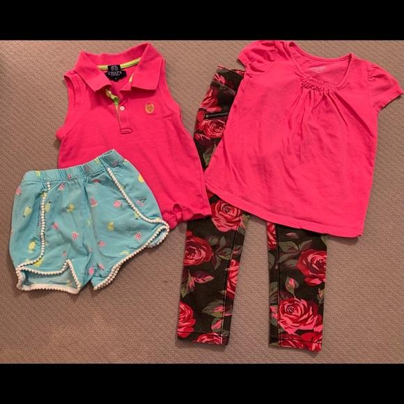 Assorted Summer Items: Tank, Tee, Shorts, Leggings
